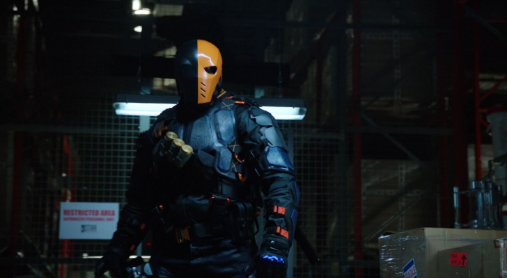 Deathstroke is apparently off-limits to Arrow again
