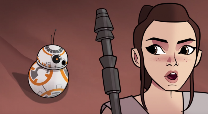 Disney Releases First Episode of Star Wars