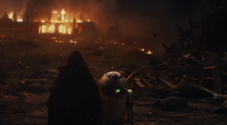 The trailer for Star Wars Episode 8 is here !