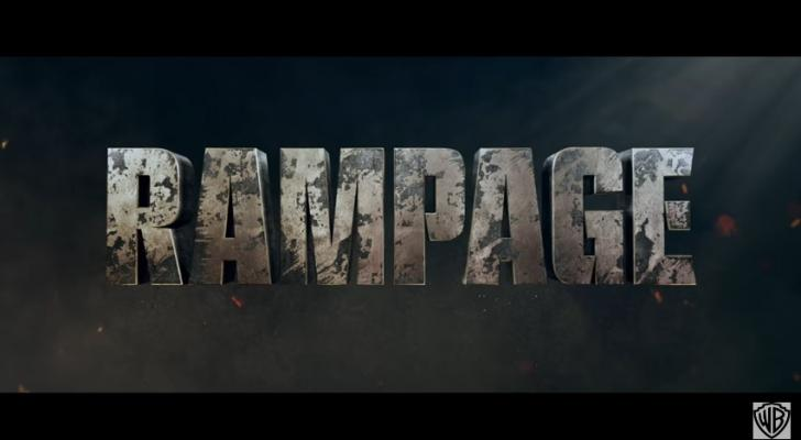 Here's the first trailer for the movie adaptation of Rampage