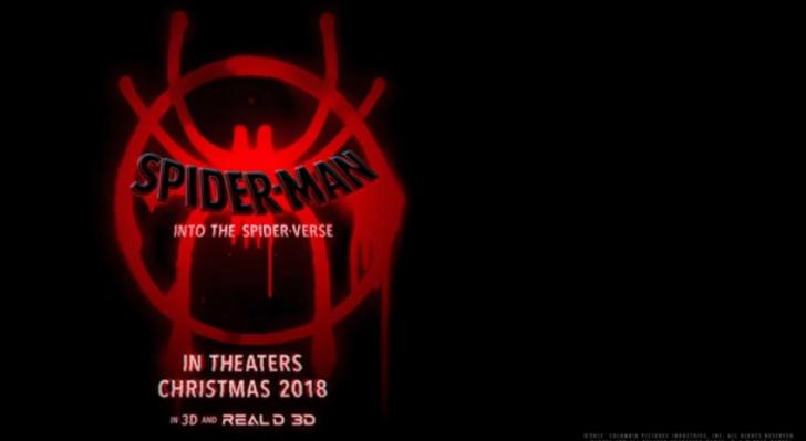Teaser released for animated movie 'Spider-Man: Into the Spider-Verse'