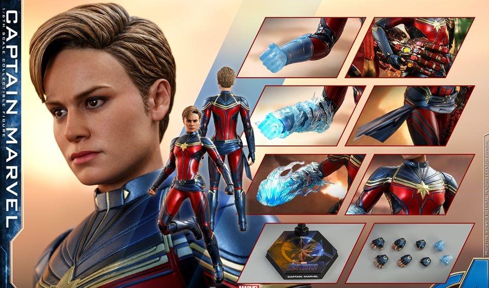 Hot Toys Reveals New Captain Marvel Figure With Short Hair Empty Lighthouse Magazine