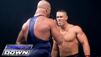 Kurt Angle Wanted John Cena To Retire Him At WrestleMania 35