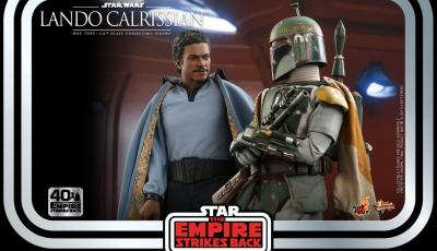 Lando Calrissian And Boba Fett Hot Toys Revealed