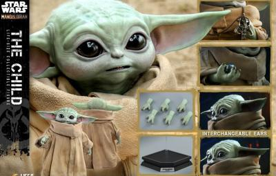 Hot Toys Reveals Life-Size Baby Yoda Figure