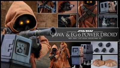 Star Wars Jawa & EG-6 Hot Toys Revealed