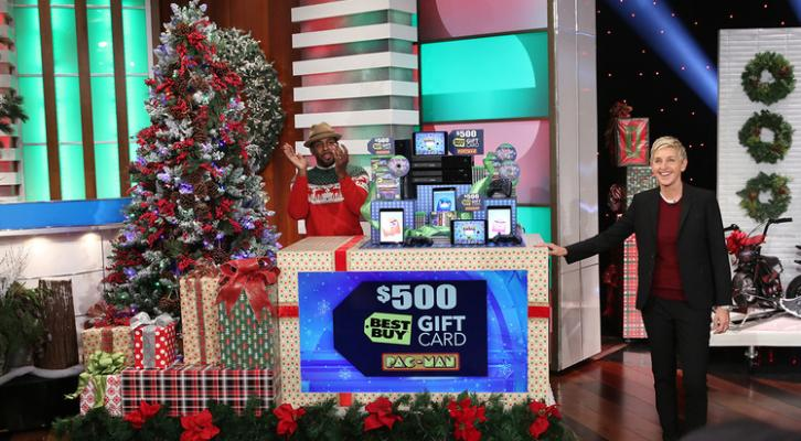 Ellen 12 Days Of Christmas Tickets.Here S How Day Three Of The Ellen Show S 12 Days Of