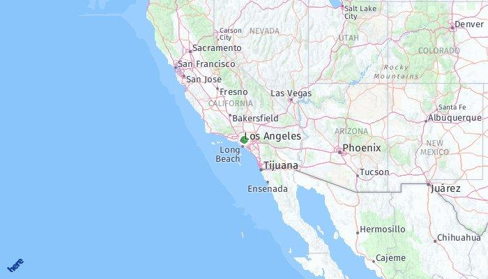 San Marino California Map.San Marino California United States Of America What To Pack What