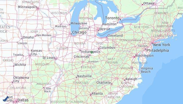 Springboro Ohio Map.Springboro Ohio United States Of America What To Pack What To