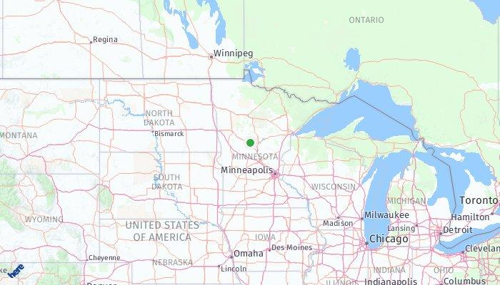 Staples Minnesota United States Of America What To Pack What To - Staples-us-map