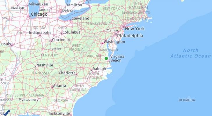 Eastern Virginia, Virginia, United States of America: What ... on map of indiana and wisconsin, map of indiana and tennessee, map of indiana and farmland, map of indiana and chicago, map of indiana and towns,