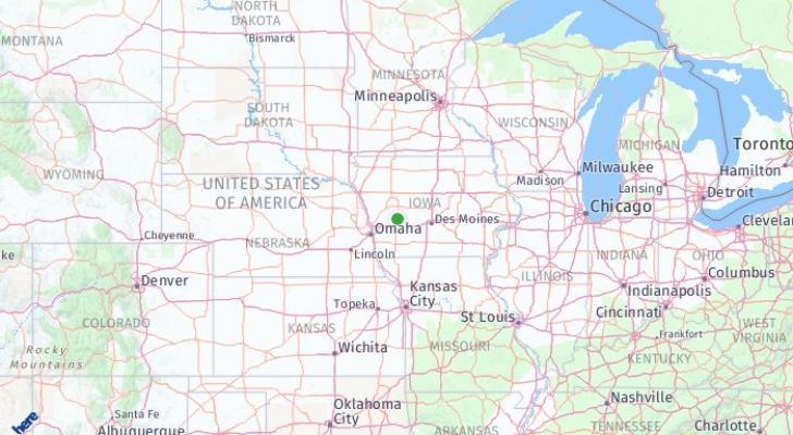 Audubon Iowa Map.Audubon Iowa United States Of America What To Pack What To Wear